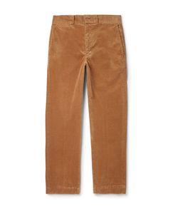 Beams Plus | Slim-Fit Cotton-Blend Corduroy Trousers