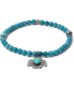 Peyote Bird | Lapis Turquoise And Sterling Bracelet