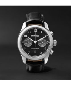 Bremont | Alt1-Classic/Pb Stainless Steel And Alligator Automatic Chronograph Watch