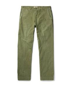 CHIMALA   Wide-Leg Cotton Chinos