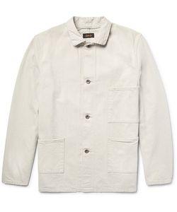 CHIMALA   Slub Denim Shirt Jacket