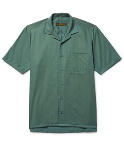 Freemans Sporting Club | Camp-Collar Linen Shirt