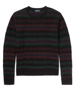 Polo Ralph Lauren | Slim-Fit Fair Isle Wool And Cashmere-Blend Sweater