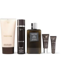 Tom Ford Beauty | Grooming Kit And Leather Wash Bag