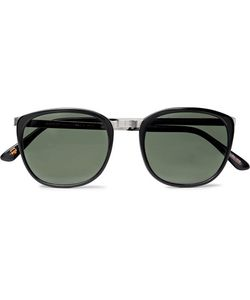 MOSCOT | Brude D-Frame Acetate And Tone Sunglasses