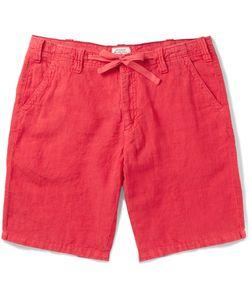 Hartford   Slim-Fit Drawstring Linen Shorts