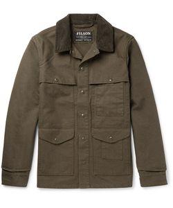 Filson | Corduroy-Trimmed Cotton-Canvas Field Jacket