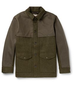 Filson | Panelled Virgin Wool And Cotton-Canvas Field Jacket