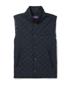 Ralph Lauren Purple | Label Gerhardt Quilted Shell Gilet