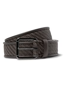 Ermenegildo Zegna | Pelle Tessuta Leather Belt