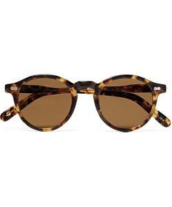MOSCOT | Miltzen Round-Frame Tortoiseshell Acetate Sunglasses
