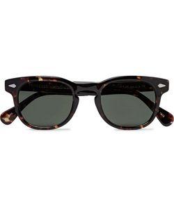 MOSCOT | Gelt Square-Frame Tortoiseshell Acetate Sunglasses
