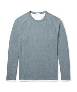 James Perse | Mélange Cotton-Blend Jersey T-Shirt