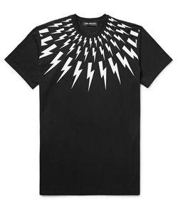 Neil Barrett | Printed Cotton-Jersey T-Shirt
