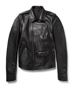 Rick Owens | Stooges Full-Grain Leather Jacket