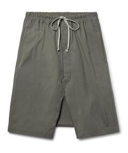Rick Owens | Coated-Cotton Shorts