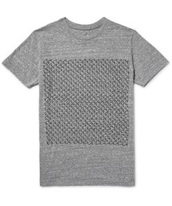 MOLLUSK | Interval Printed Mélange Jersey T-Shirt