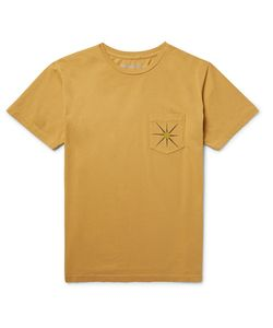 MOLLUSK | Sun Up Printed Cotton-Jersey T-Shirt