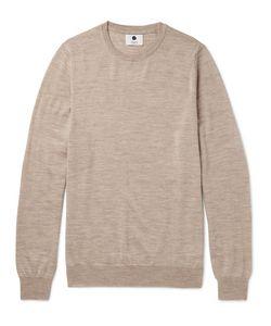 NN07 | Charles Mélange Merino Wool Sweater