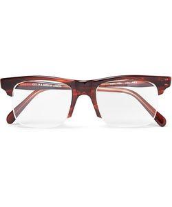 Kingsman | Cutler And Gross Square-Frame Acetate Optical Glasses