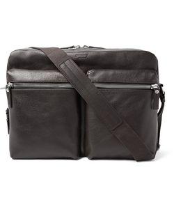 SHINOLA | Leather Messenger Bag
