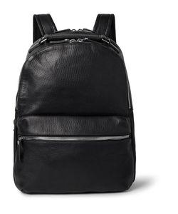 SHINOLA | The Runwell Full-Grain Leather Backpack