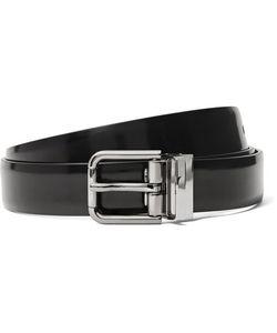 Dolce & Gabbana   2.5cm Polished-Leather Belt