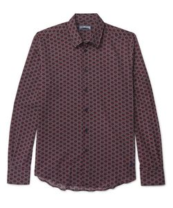 Vilebrequin | Printed Cotton-Voile Shirt
