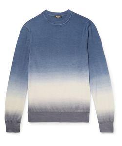 BERLUTI   Slim-Fit Dégradé Cashmere And Silk-Blend Sweater