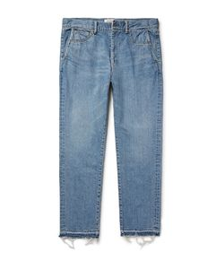 Remi Relief | Frayed Denim Jeans