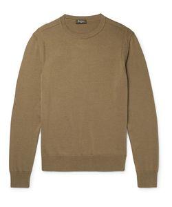 BERLUTI   Silk And Cotton-Blend Sweater