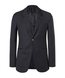Caruso | Butterfly Slim-Fit Unstructured Wool Mohair And Silk-Blend Blazer