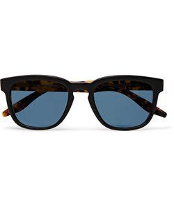 BARTON PERREIRA   Coltrane Square-Frame Matte-Acetate Polarised Sunglasses