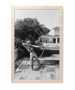 Hopper | Framed Jane Fonda Print 12 X 18
