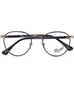 Persol | Round-Frame Acetate And Metal Optical Glasses