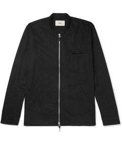 Folk | Cotton-Twill Zip-Up Shirt
