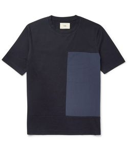 Folk | Slim-Fit Shell And Cotton-Jersey T-Shirt