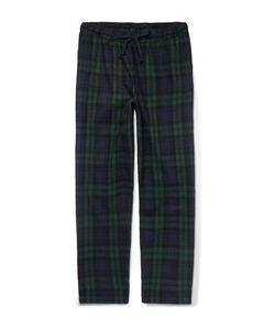 Sleepy Jones | Hoffman Checked Cotton-Flannel Pyjama Trousers