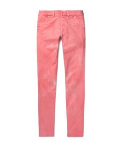 The Elder Statesman | Slim-Fit Cotton-Twill Trousers