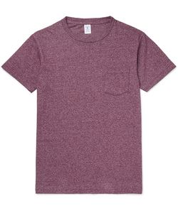 Velva Sheen | Slim-Fit Mélange Slub Cotton-Blend Jersey T-Shirt