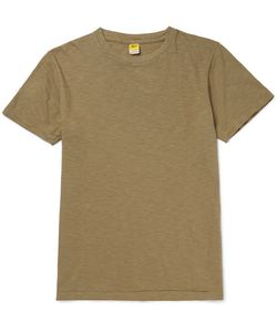 Velva Sheen | Slim-Fit Rolled Slub Cotton-Jersey T-Shirt