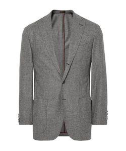 RUBINACCI | Puppytooth Virgin Wool And Cashmere-Blend Blazer