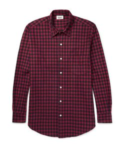 Sleepy Jones | Noah Checked Cotton-Flannel Pyjama Shirt