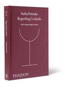 Phaidon | Regarding Cocktails Hardcover Book