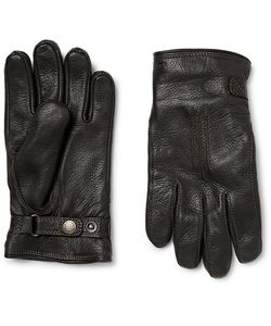 Hestra | Shearling-Lined Leather Gloves