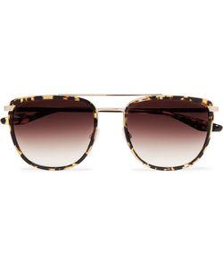 3fdf38d183 BARTON PERREIRA - Lafayette Aviator-Style Acetate And Tone Sunglasses