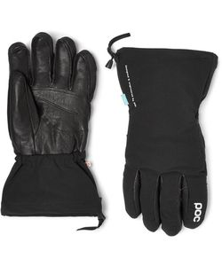 POC | Leather-Panelled Padded Waterproof Gloves
