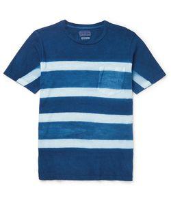 Blue Blue Japan | Itajime-Dyed Cotton-Jersey T-Shirt