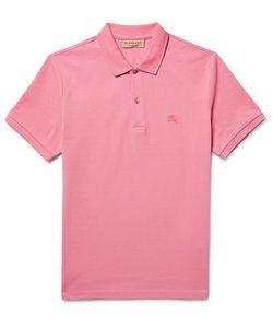 Burberry | Slim-Fit Cotton-Piqué Polo Shirt
