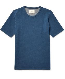 Folk | Slim-Fit Knitted Cotton T-Shirt